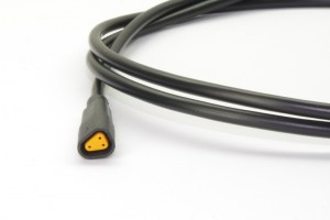 HIGO-B3-F #DE Steckverbinder mit 1 m Kabel #EN connector with 1 m cable