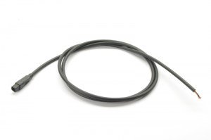HIGO-S8-F #DE Steckverbinder mit 1 m Kabel #EN connector with 1 m cable