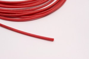 Rote Silikonlitze 2.5 mm² / red silikon wire AWG 14